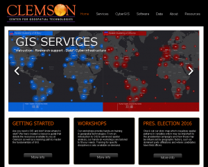 Clemson Center for Geospatial Technologies